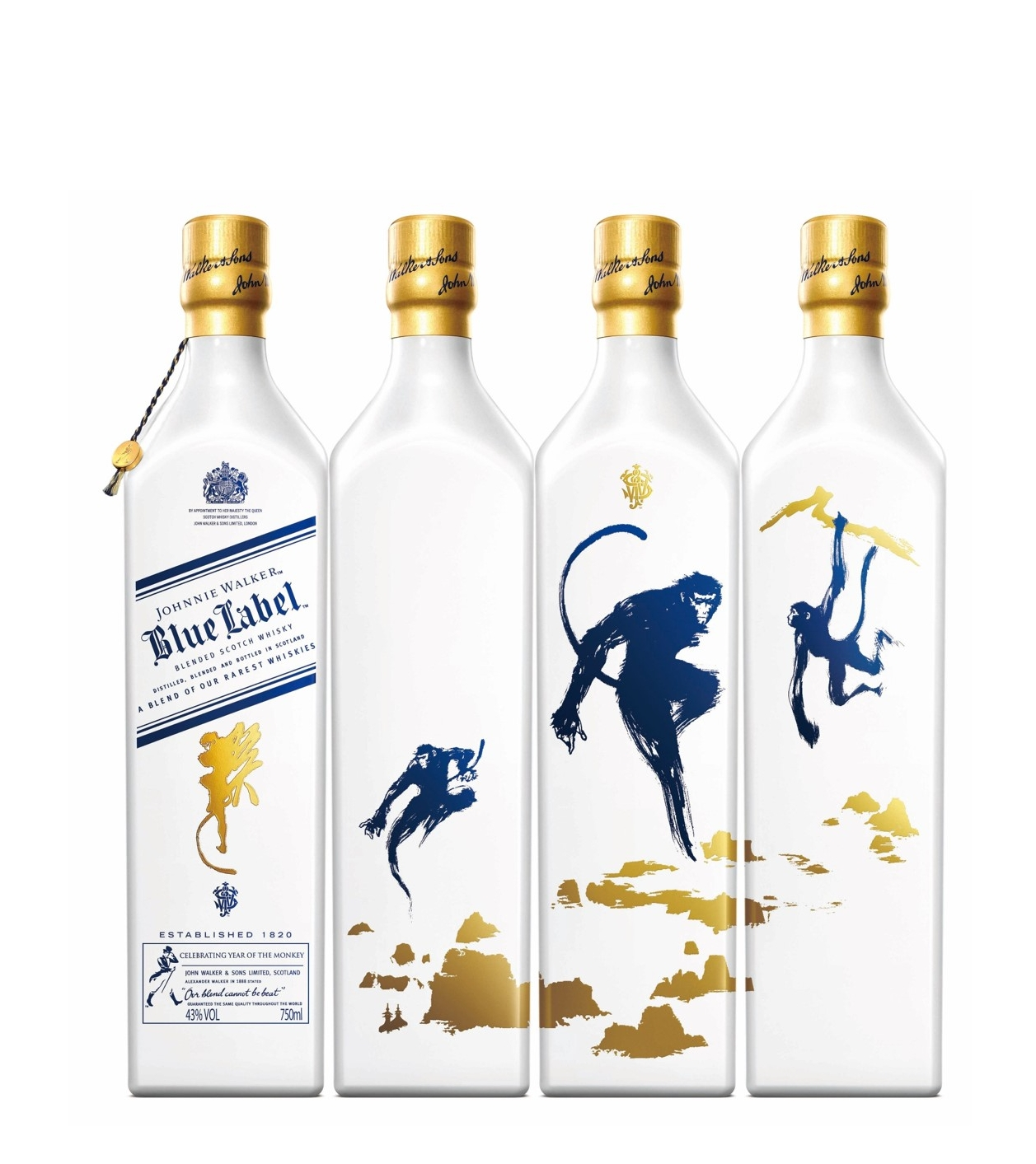 Johnnie Walker Blue Label Celebrates The Year Of The