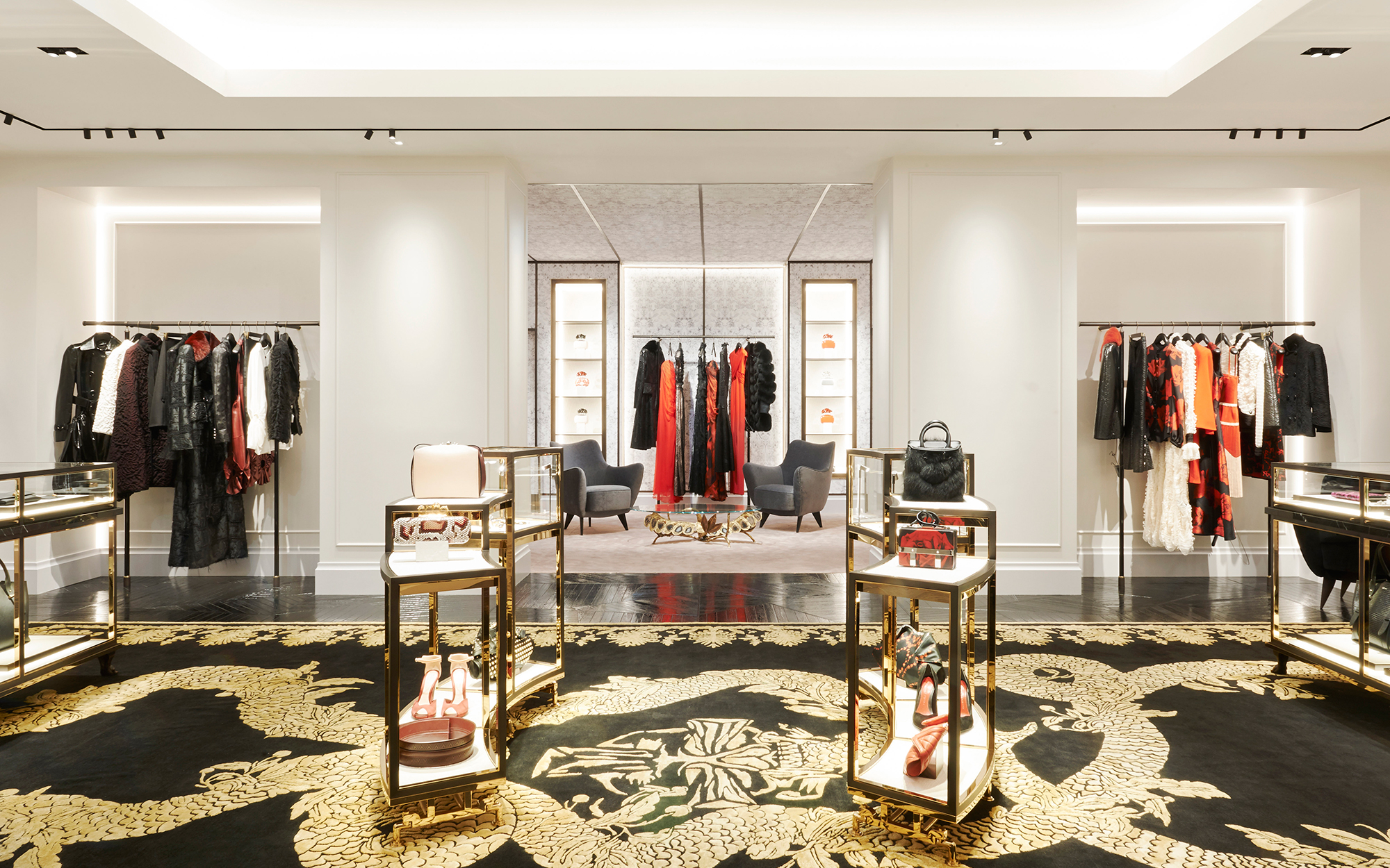 820621aa7f705 Alexander McQueen's Paris Boutique Wins Design Award - Pursuitist