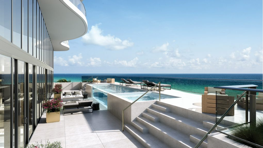 Beach House Pool Deck 1