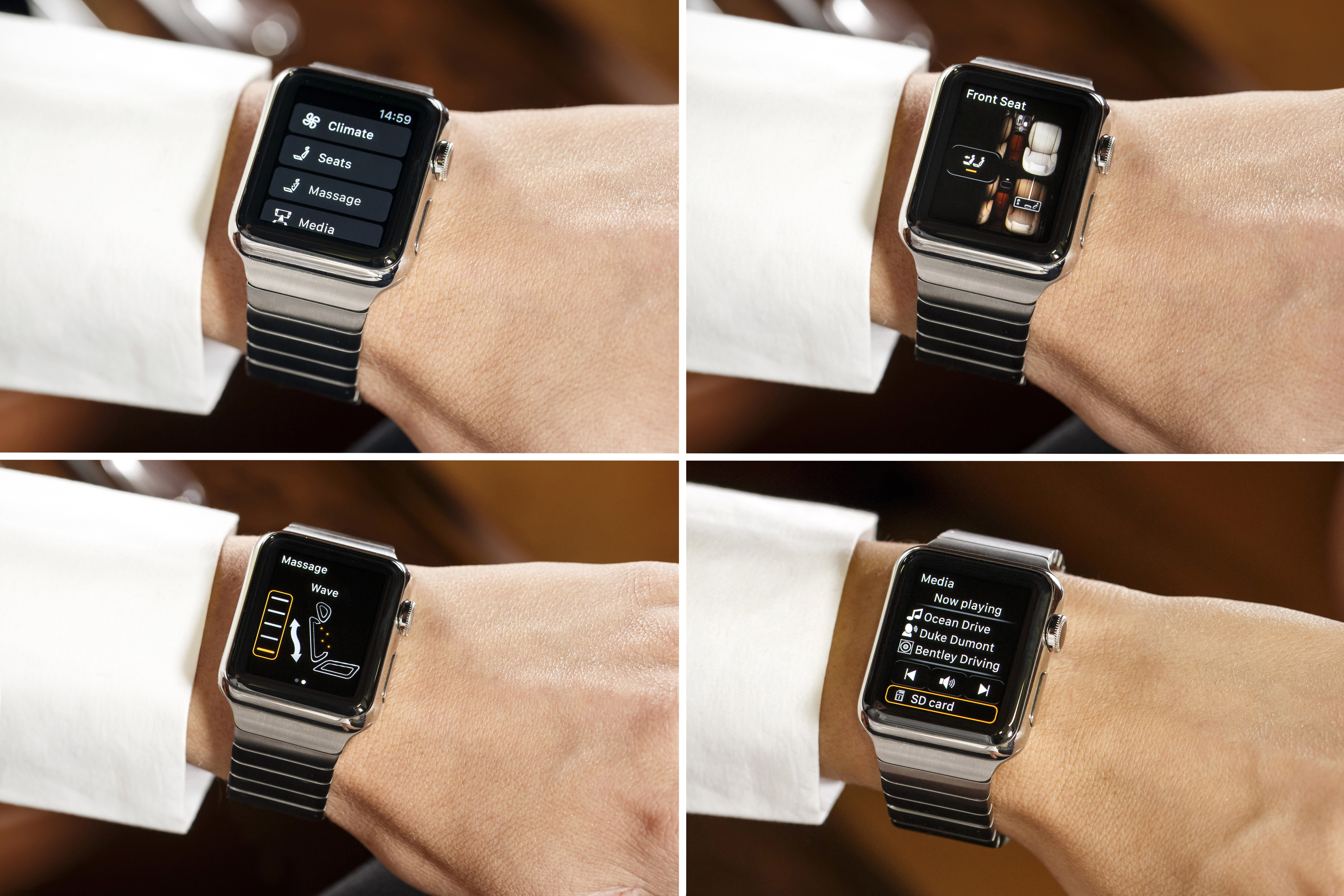 Bentley's new Bentayga Apple Watch App