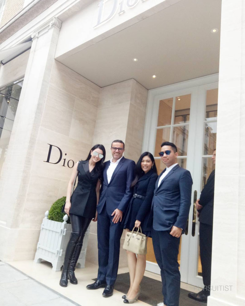 Dior bond street opens with dior taxi cabs pursuitist for 108 new bond street salon