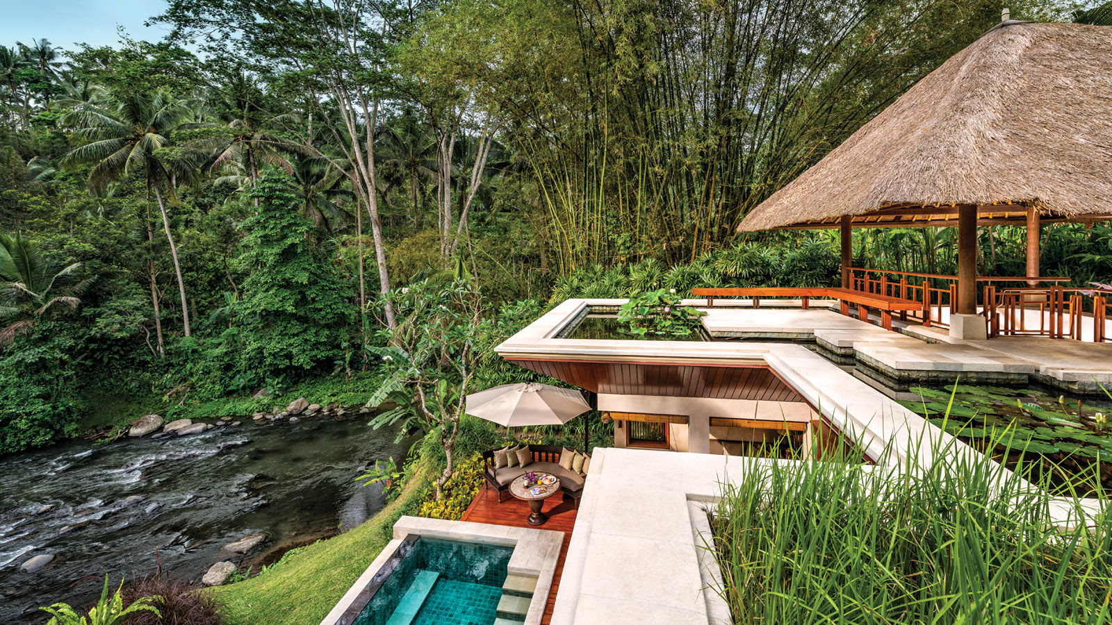 New architecture journey at four seasons sayan bali for Design hotel ubud
