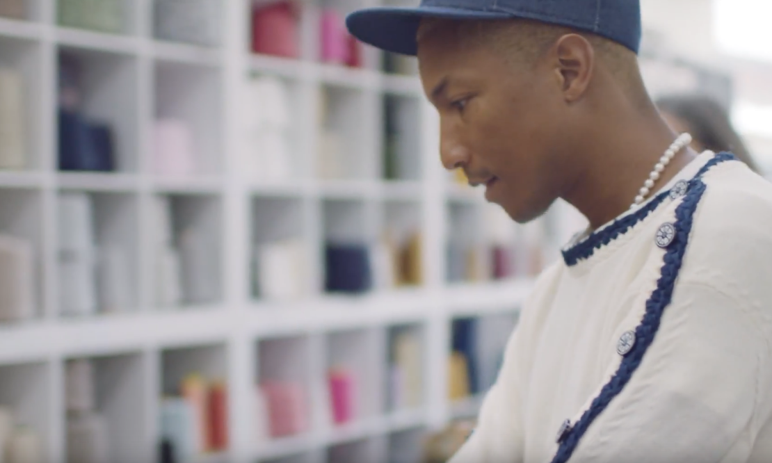 Pharrell Williams Partners With Chanel For Collection