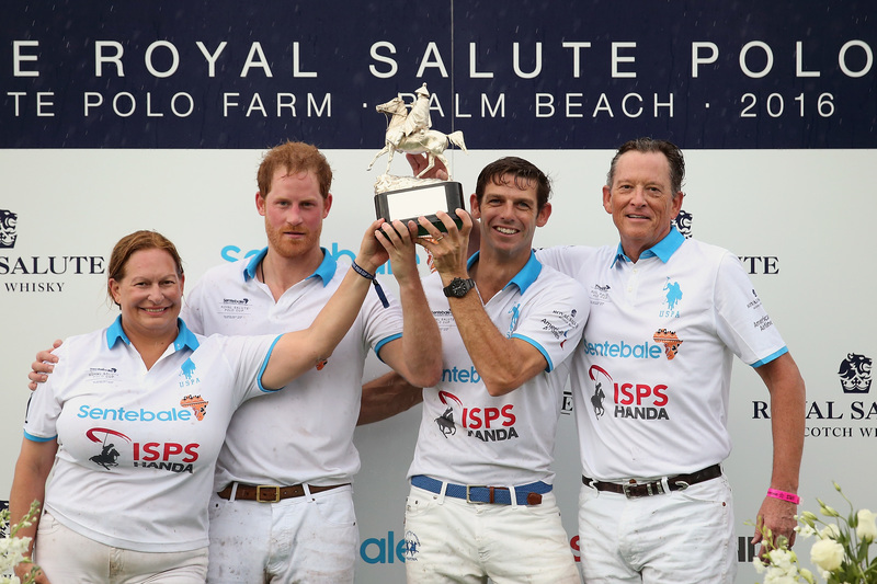 Prince Harry Wins Sentebale Royal Salute Polo Cup