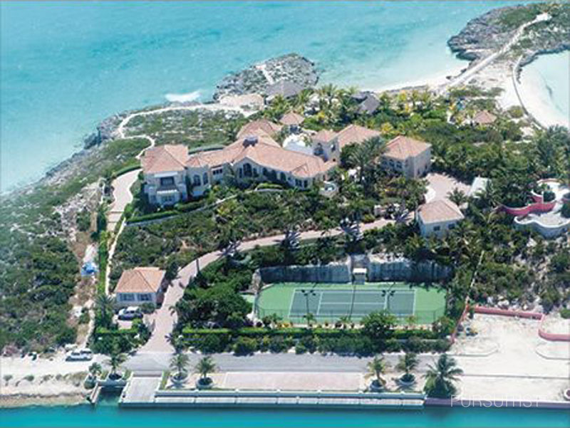 Prince's Turks and Caicos Island Mansion010