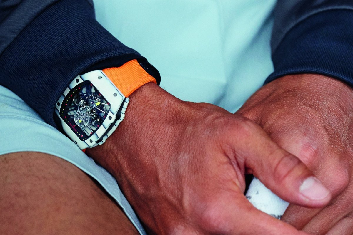 Richard Mille Unveils Rafael Nadal Watch For French Open
