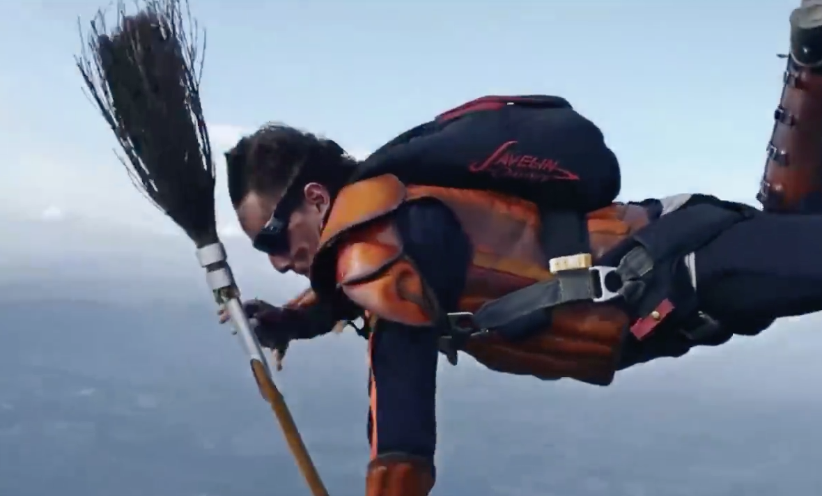 Watch Skydivers Play Quidditch In the Sky