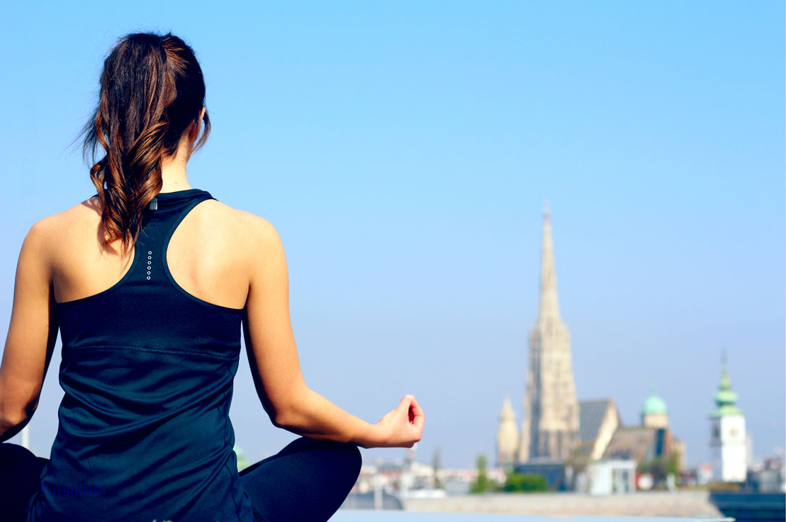 Yoga Over The Vienna Rooftops With Ritz-Carlton