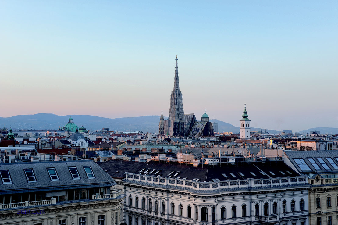 Yoga Over The Vienna Rooftops With Ritz-Carlton007
