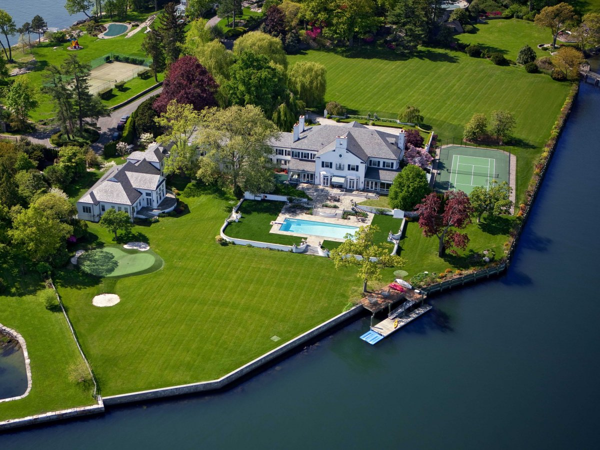 Buy Donald Trump's First Mansion In Connecticut For $45 Million