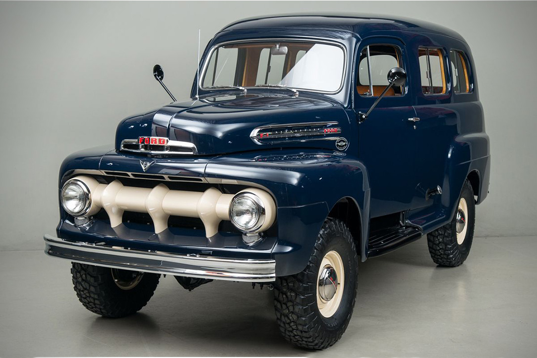 47250a95ca A Rare 4x4 Ford from 1951 - Pursuitist