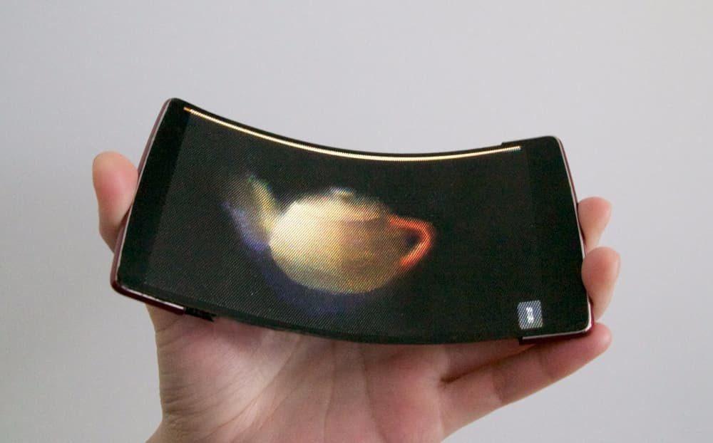 Cylindrical Screens and Bendable Holograms: The Future of Smartphone Technology