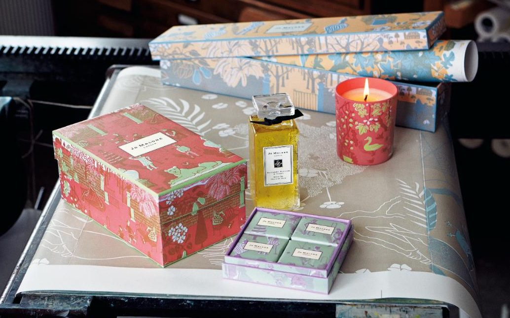 """The """"Summer Afternoon"""" Collection by Marthe Armitage for Jo Malone London"""