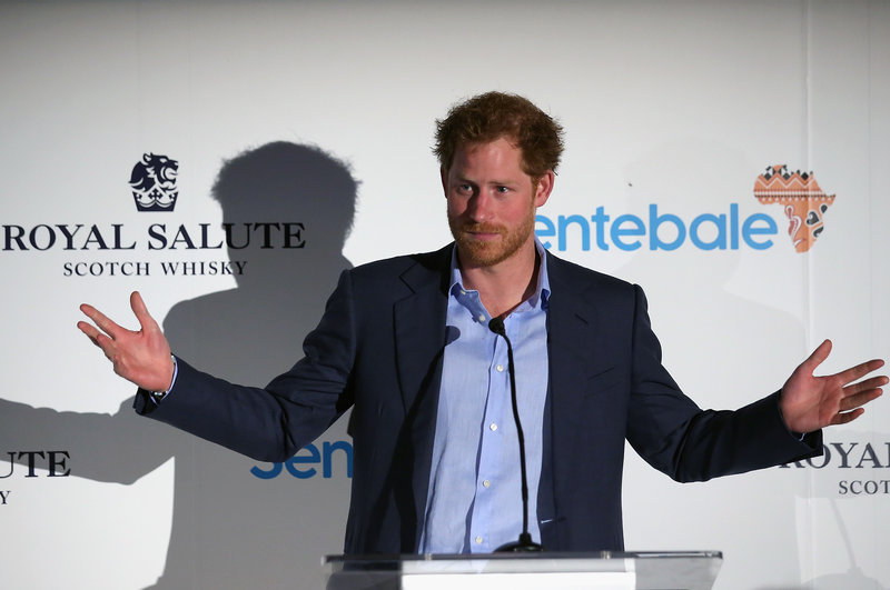 Prince Harry and Royal Salute Polo Cup Raise Funds for Sentebale