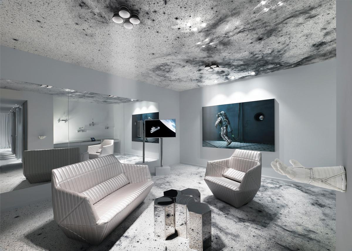 Over the Moon: The Space Suite at Kameha