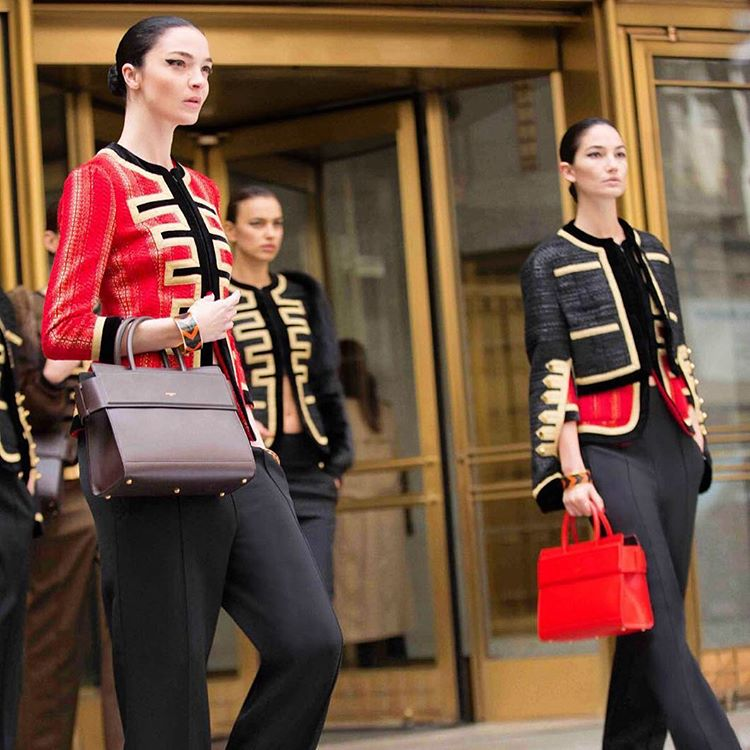 Bella Hadid And Irina Shayk For Givenchy2