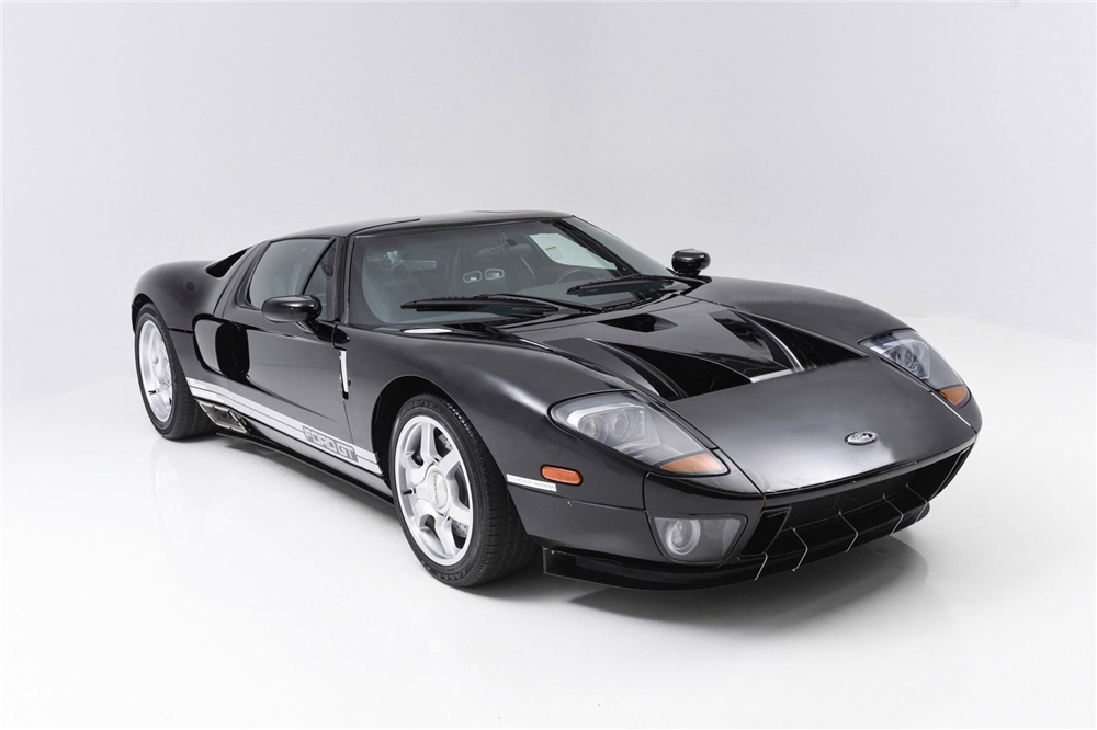 Rare Ford GT Goes To Auction At Barrett-Jackson