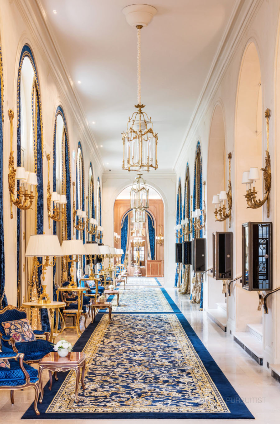 The Paris Ritz Hotel On The Place Vendome Reopens Pursuitist