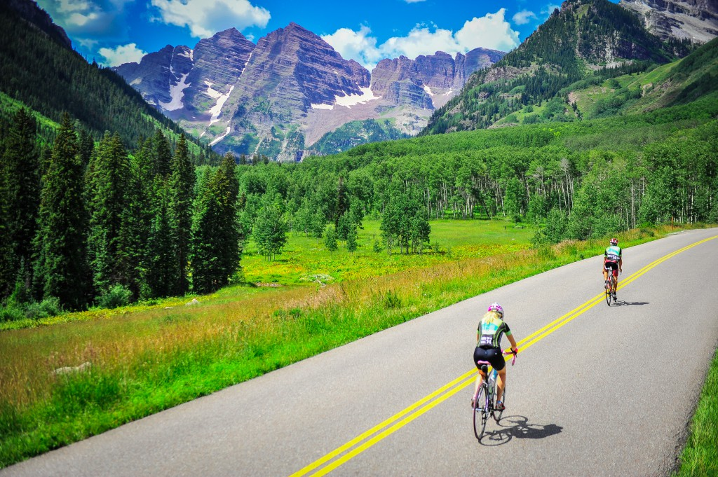 Summer Cycling With Aspen's Little Nell