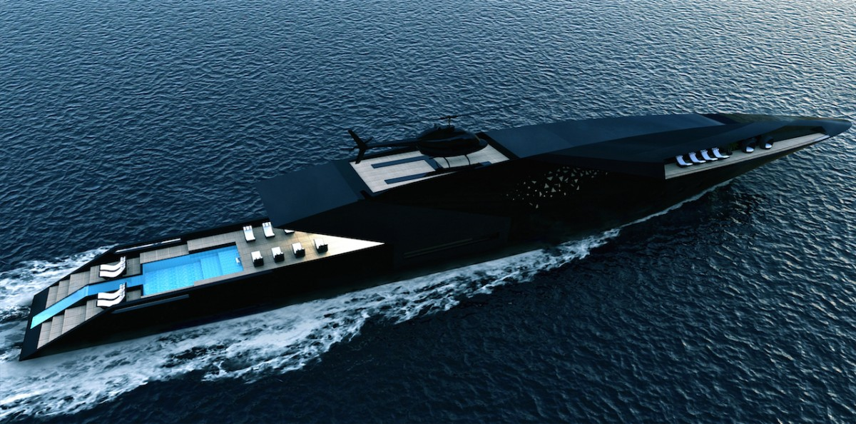 The 'Black Swan' Superyacht from Timur Bozca