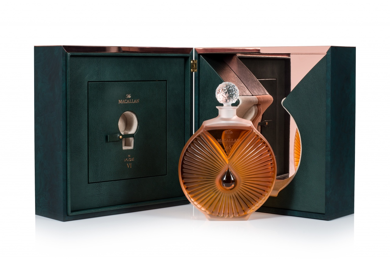 The Macallan Distillery and Lalique Glassmakers Produce a 'Peerless Spirit'