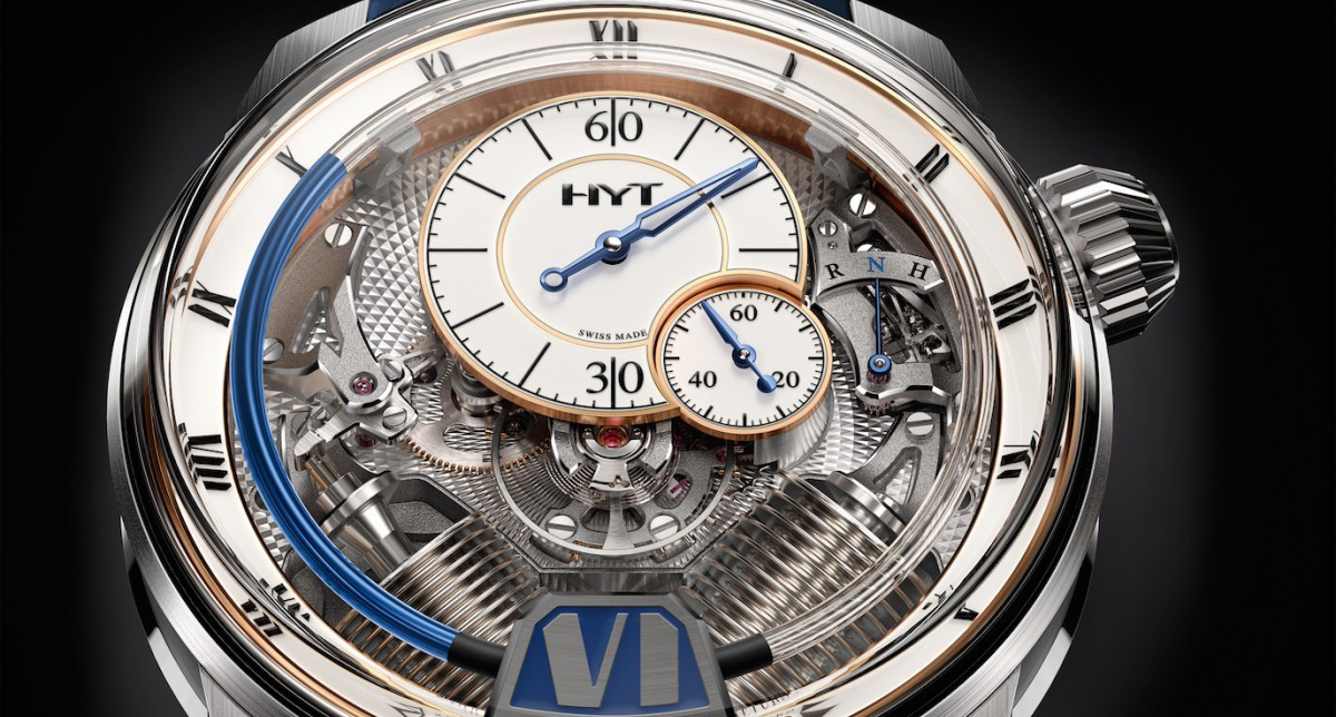 Fluid Time: Hydromechanical Watches from HYT
