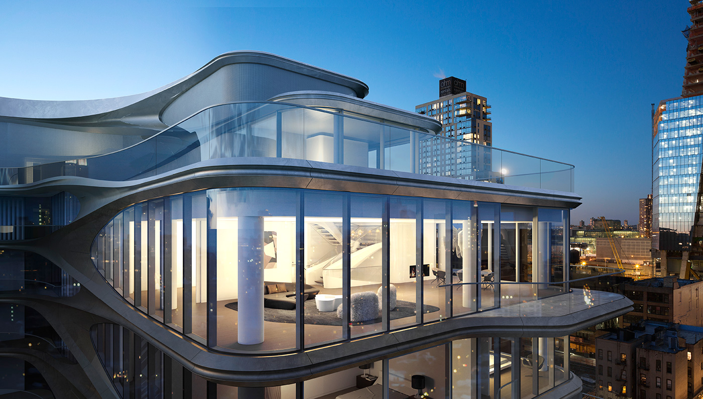 Zaha Hadid's 520 West 28th Now For Sale