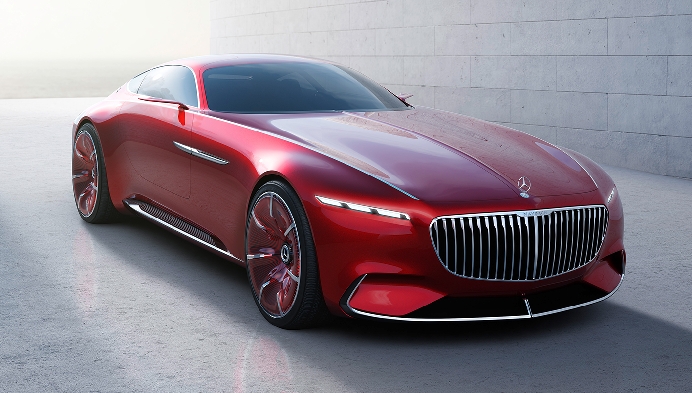 Will The All-Electric Mercedes-Maybach 6 Could Be A Rolls-Royce Killer?