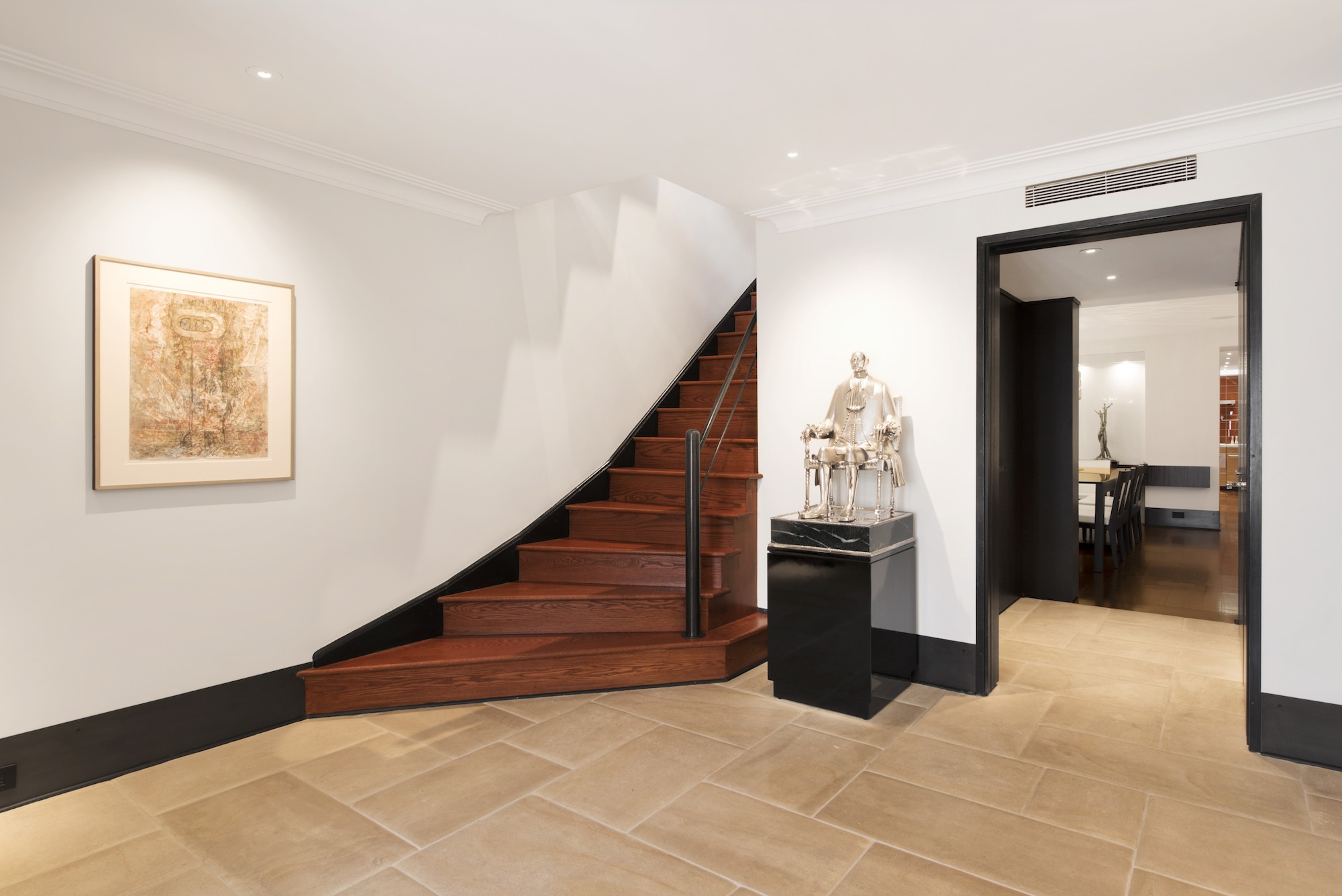 1145 Park Avenue by LJG - Entrance Staircase