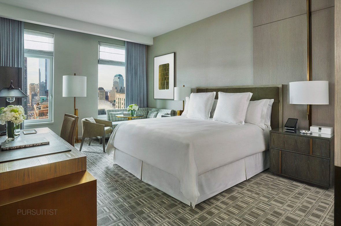Four Seasons New York DowntownFSNYD Room Rendering
