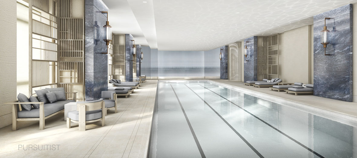Four Seasons New York DowntownPool