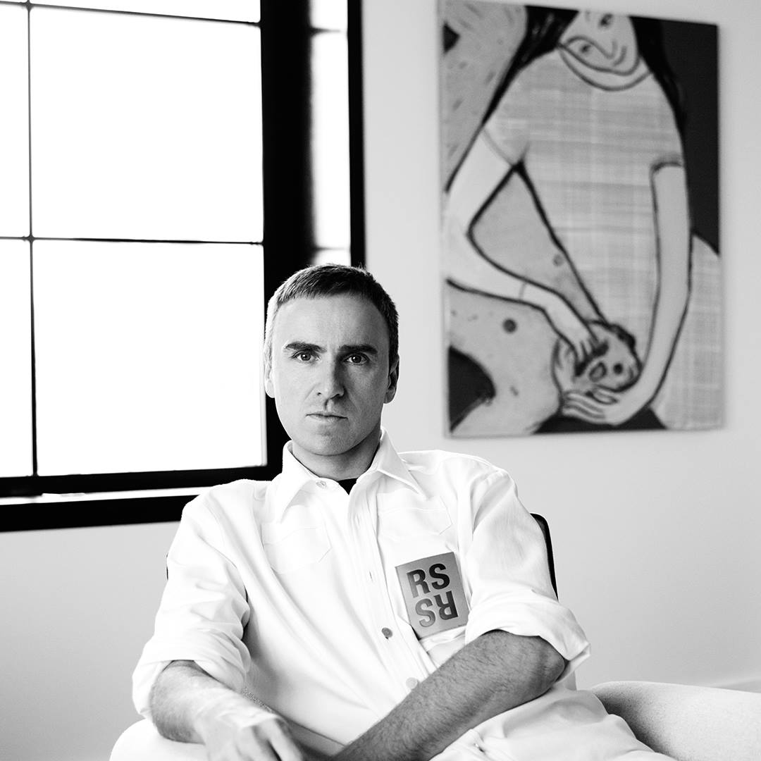Raf Simons Named Chief Creative Officer Of Calvin Klein