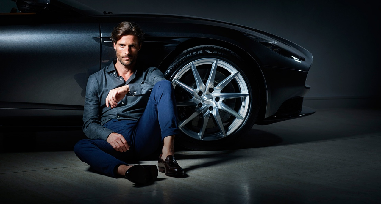 Aston Martin by Hackett Menswear Collection