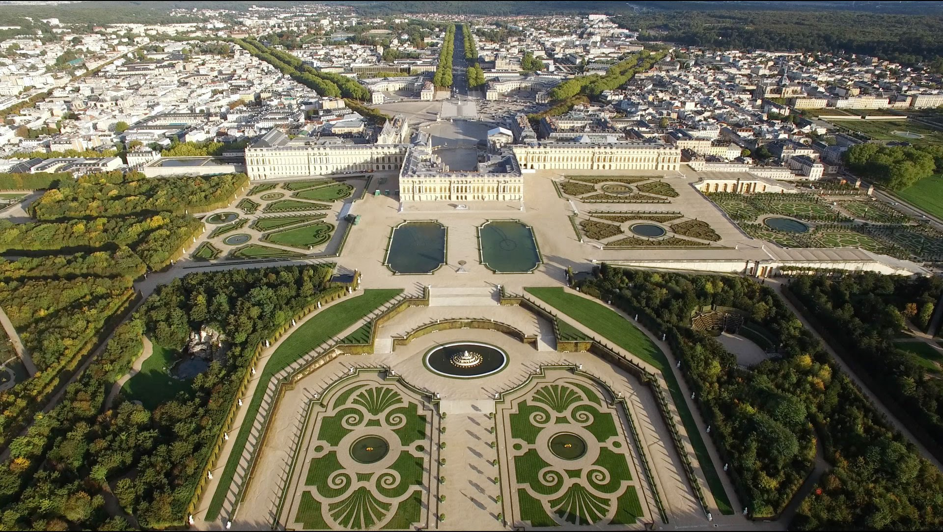 Amazing View Of Versailles From The Sky Video Pursuitist
