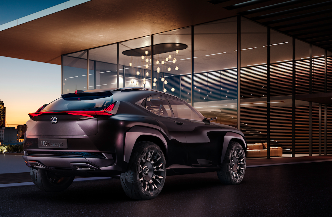 Lexus UX Concept To Debut At Paris Motor Show