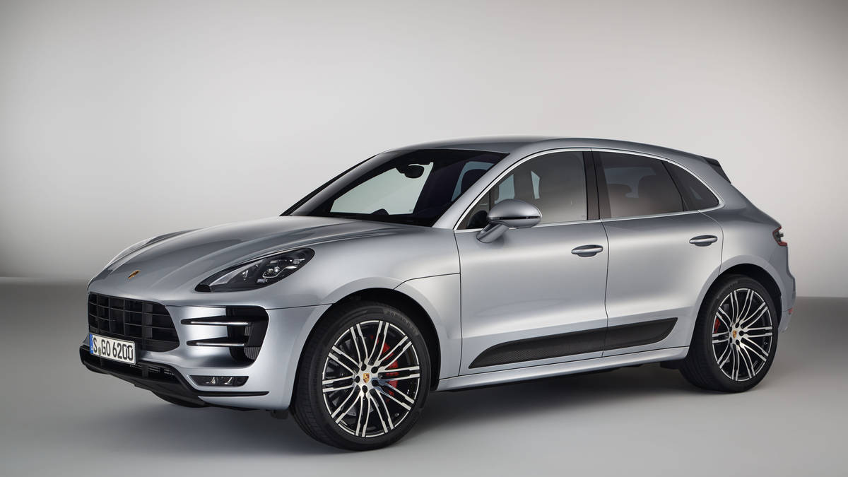 Porsche's New Macan Turbo 2017