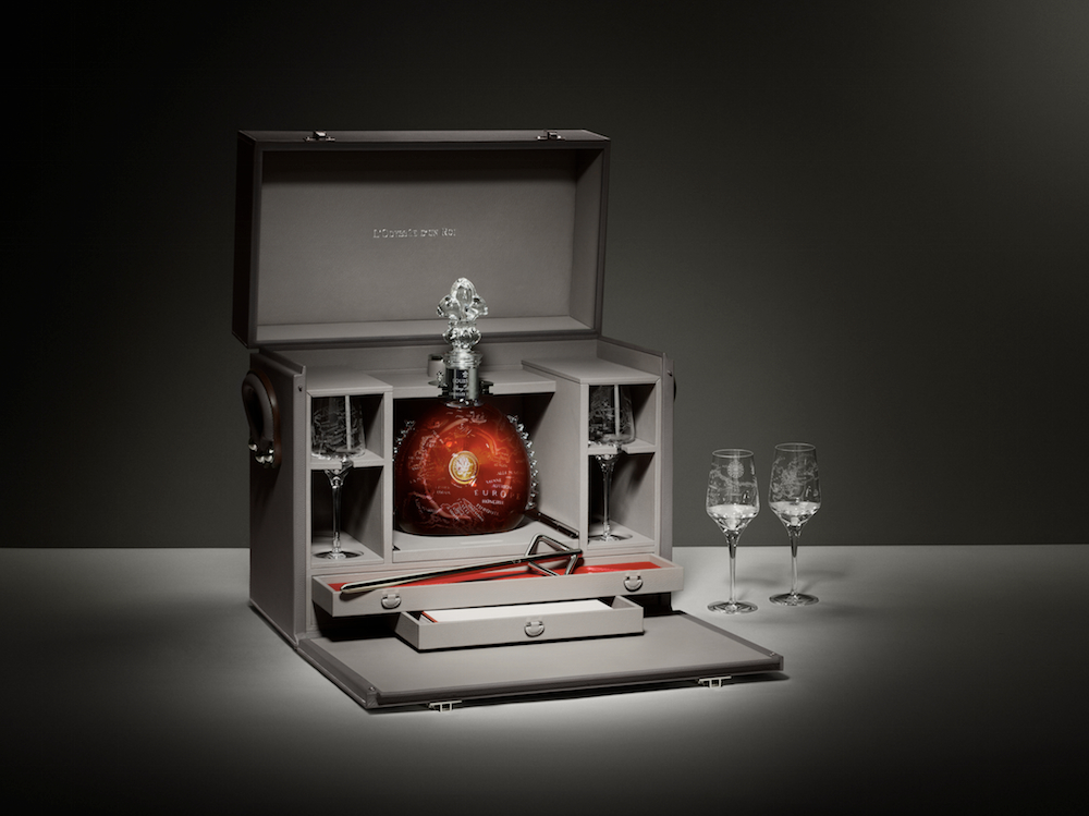 Limited Edition Hermes/ Louis XIII Cognac Trunk Predicted To Fetch More than $100,000 At Auction Tomorrow
