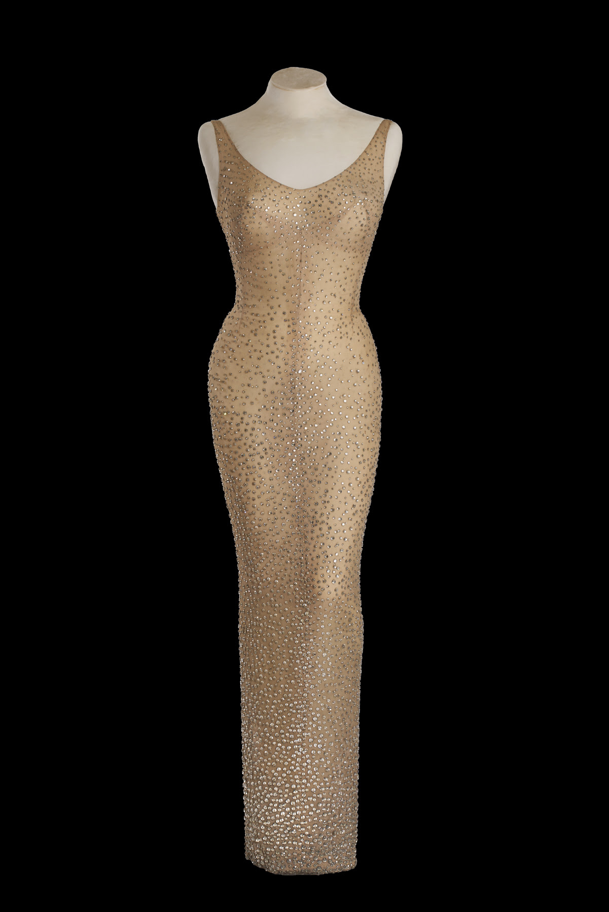 "Marilyn Monroe's Iconic ""Happy Birthday Mr. President"" Dress Up For Auction"