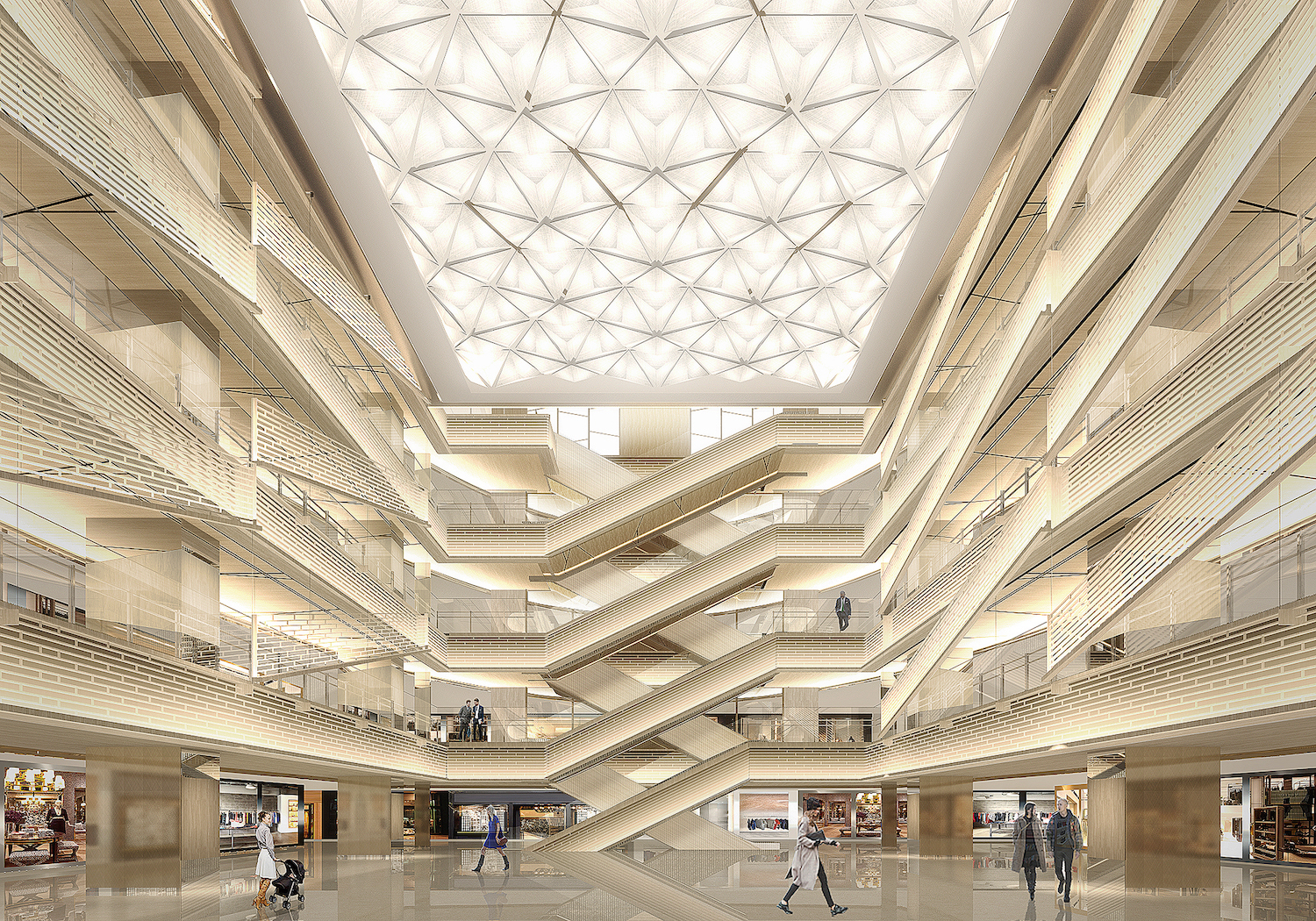 Ginza Six Retail Complex In Tokyo Plans April 2017 Opening Pursuitist