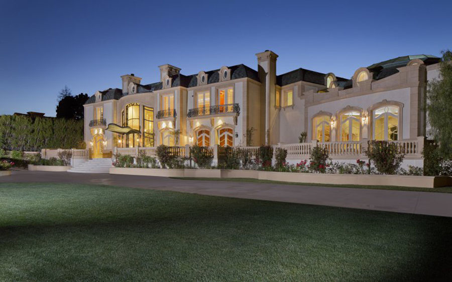 This 72 Million Beverly Hills Mansion Includes A Garage