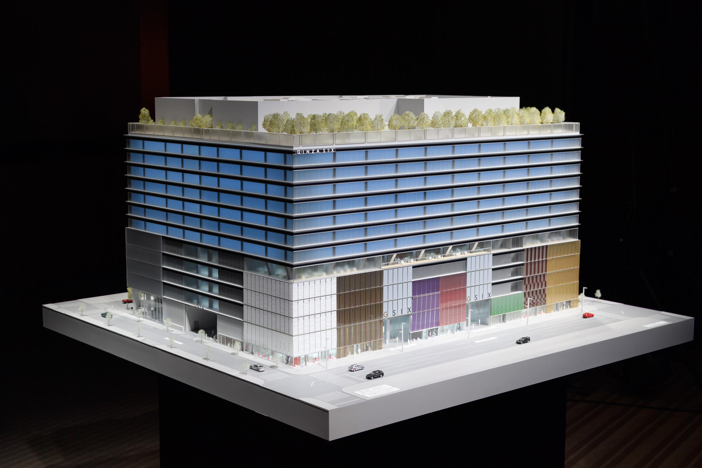 Ginza Six Retail Complex In Tokyo Plans April 2017 Opening