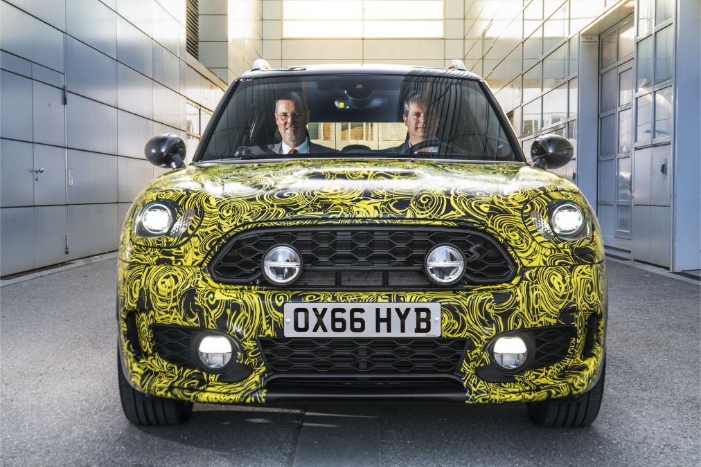 New Mini Countryman Gets A Plug-in Hybrid Model