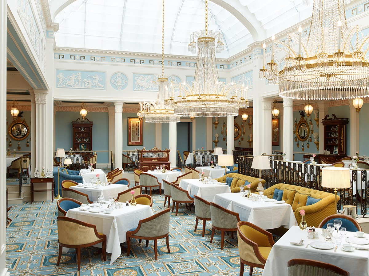 Posh Tea Rooms In London
