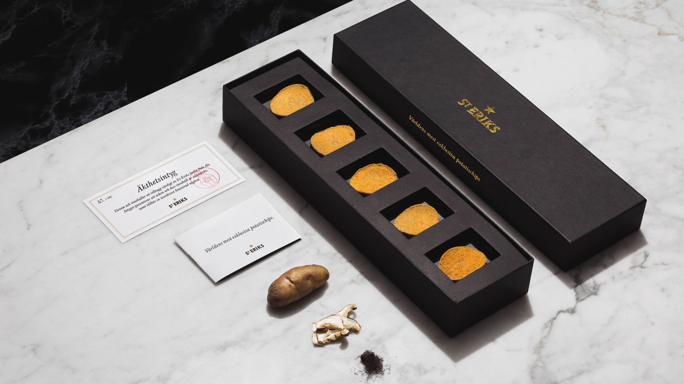 The World's Most Expensive Potato Chips