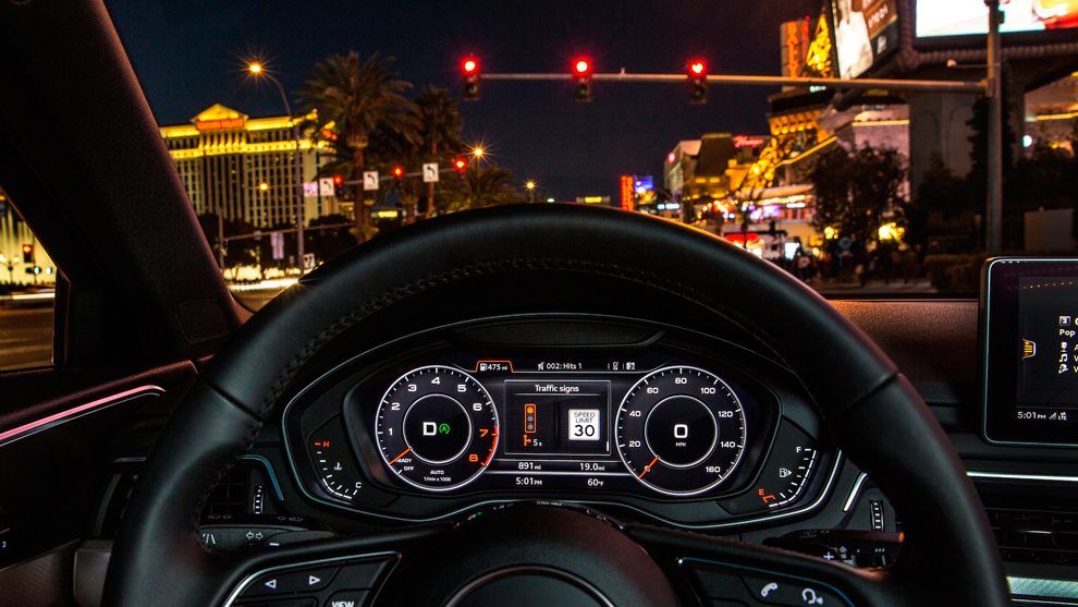Audi To Unveil Traffic Light Timing System In Las Vegas