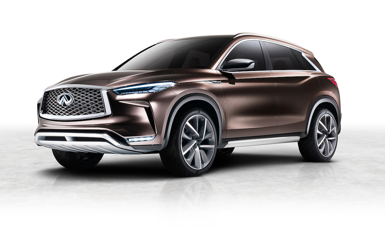 INFINITI QX50 Concept To Be Revealed In Detroit