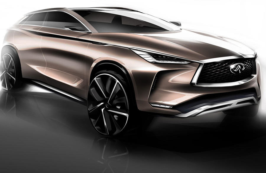 INFINITI QX50 Concept To Be Revealed In Detroit2