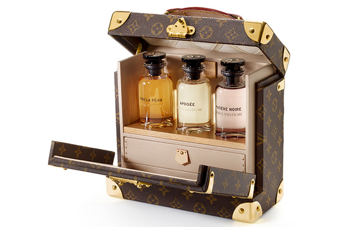 Louis Vuitton Perfume Trunk Makes A Luxurious Lv Christmas
