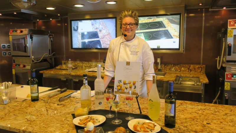 Chef Kathryn Kelly of Oceania Cruises