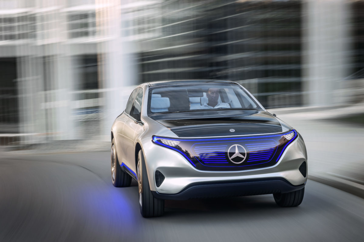 Mercedes Plans Electric Future